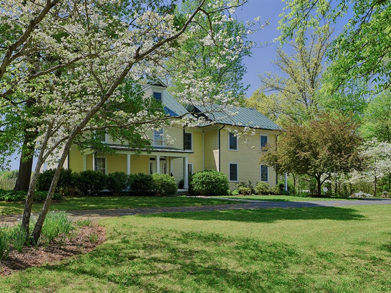 Virginia Farmhouse for Sale in Orange County VA