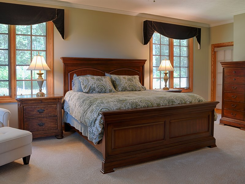 Master Bedroom at Red Horse Farm