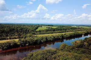 James River front lots for sale in Buckingham County