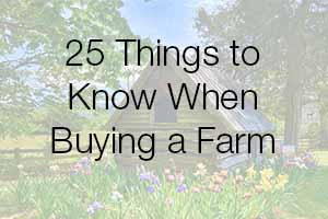 Buying a Farm in Virginia