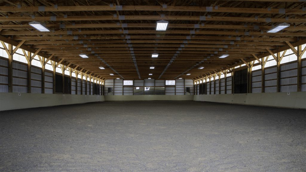 Indoor Riding Ring in Virginia