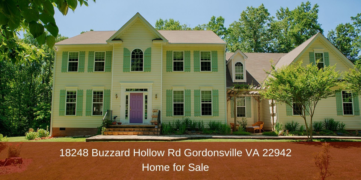 18248 Buzzard Hollow Rd Gordonsville VA 22942 | Home for Sale