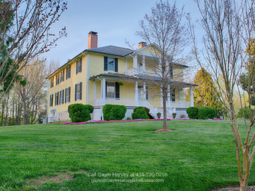 Historic Country Property for Sale in Central VA