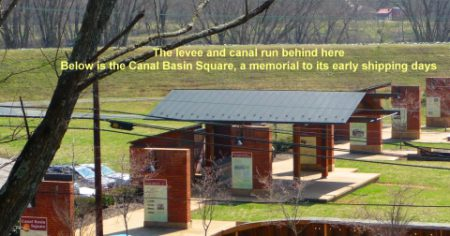 Scottsville Virginia Canal Memorial