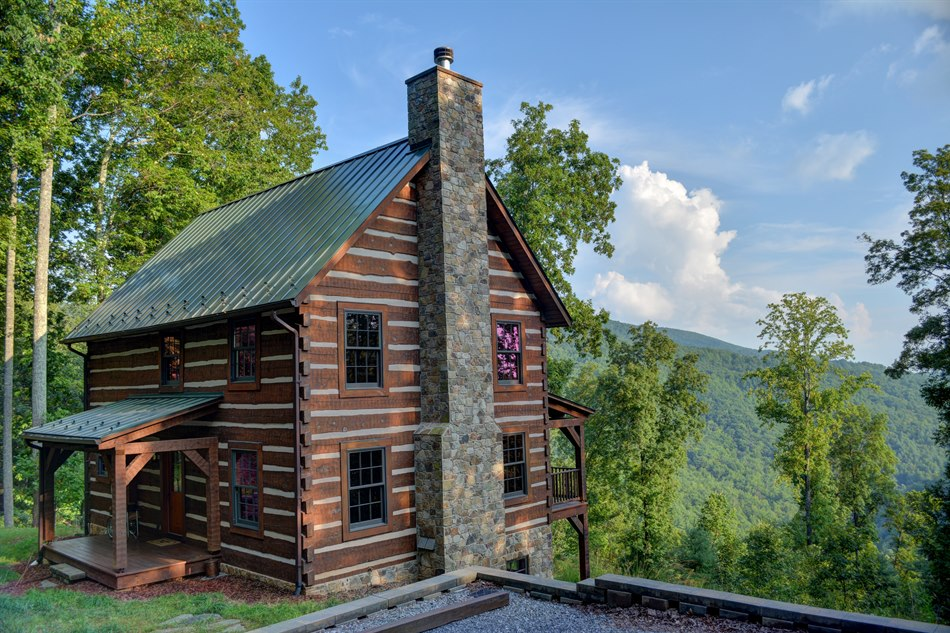 Blue Ridge Mountain Cabin For Sale